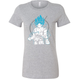 Super Saiyan Goku God Woman Short Sleeve T Shirt - TL00528WS