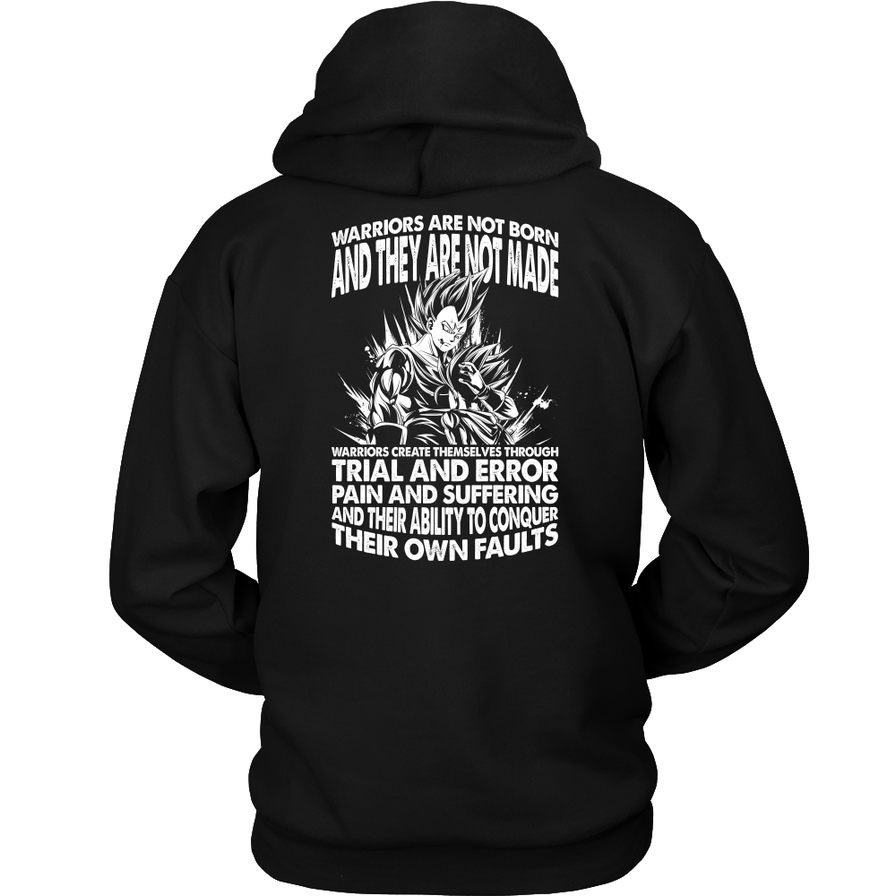 Super Saiyan Majin Vegeta and Trunks Unisex Hoodie T shirt - TL00219HO