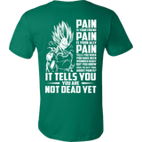 Super Saiyan Majin Vegeta Pain Men Short Sleeve T Shirt - TL00437SS