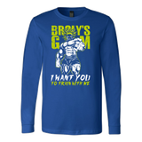 Super Saiyan Broly Training Gym Long Sleeve T shirt - TL00540LS