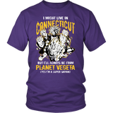 Super Saiyan - Connecticut - Men Short Sleeve T Shirt - TL00092SS