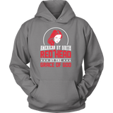 Hobbies - American by birth red head by the grace of god - unisex hoodie t shirt - TL00838HO