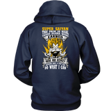 Super Saiyan Vegeta Warrior Unisex Hoodie T shirt - TL00120HO