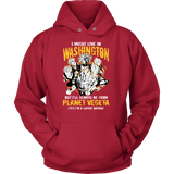 Super Saiyan Washington Unisex Hoodie T shirt - TL00070HO
