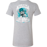Super Saiyan Goku God Blue Woman Short Sleeve T Shirt -TL00204WS