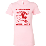 Super saiyan Majin Vegeta push your limits Woman Short Sleeve T Shirt -TL00226WS