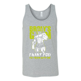 Super Saiyan Broly Training Gym Tank top shirt - TL00540TT