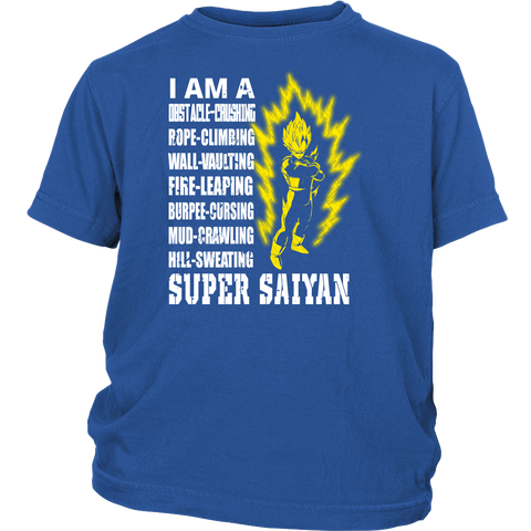 Super Saiyan - i am a super saiyan- District Youth Shirt– TL01149YS