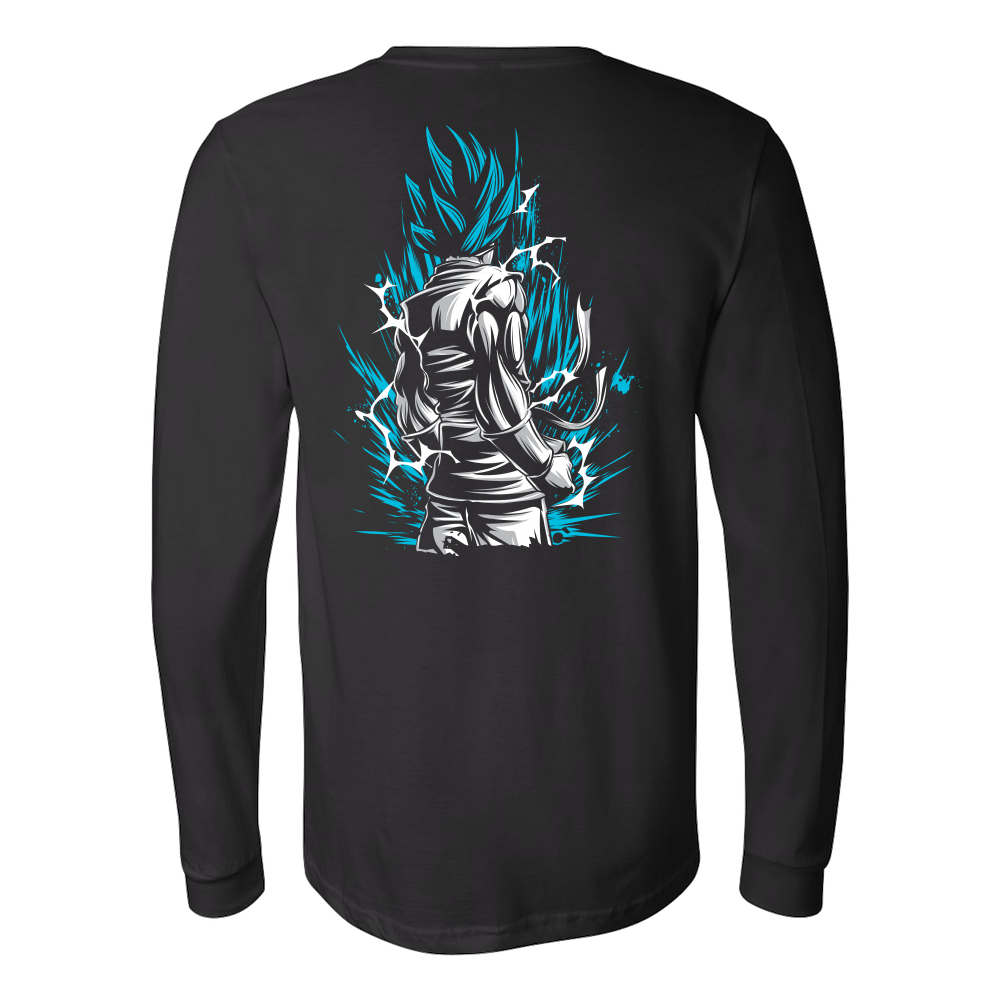 Super Saiyan God Blue Goku Long Sleeve T shirt - TL00020LS