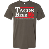 Taco mexican beer 16 Men Short Sleeve Funny T Shirt - TL00610SS