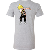 Super Saiyan Vegeta Hiphop Dance Woman Short Sleeve T Shirt -TL00236WS