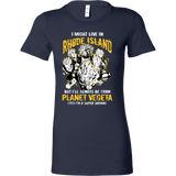 Super Saiyan I May Live in Rhode Island Woman Short Sleeve T Shirt - TL00102WS