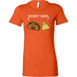 Taco mexican do you want to taco 'bout it nacho problem Woman Short Sleeve Funny T Shirt - TL00581WS