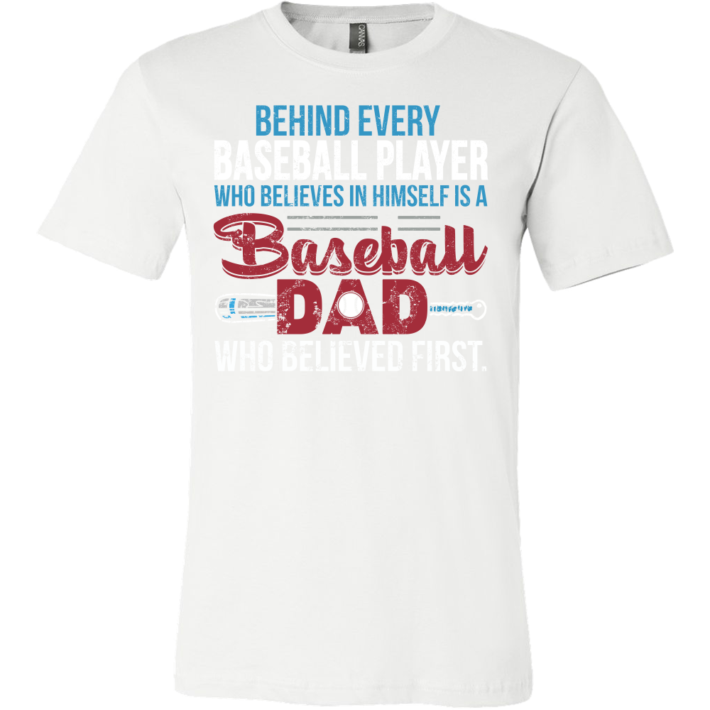 6b7096e8 ... Family - Behind Every Baseball Player Is A Baseball Dad - Men Short  Sleeve T Shirt