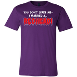 Hobbies - You dont scare me i married a redhead - men short sleeve t shirt - TL00836SS