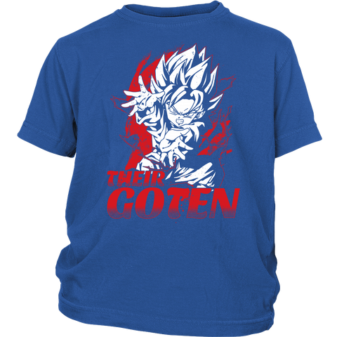 Super Saiyan Goten Shirt - Their Goten - District Youth Shirt - TL00487YS