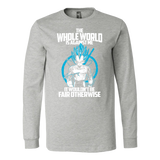 Super Saiyan Vegeta God Fair Otherwise Long Sleeve T shirt - TL00541LS