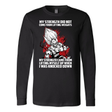 Super Saiyan Majin Vegeta Lift up when being knocked down Long Sleeve T shirt - TL00468LS
