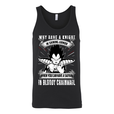 Super Saiyan  - forget the knight , you have saiyan - Unisex Tank Top - TL01366TT
