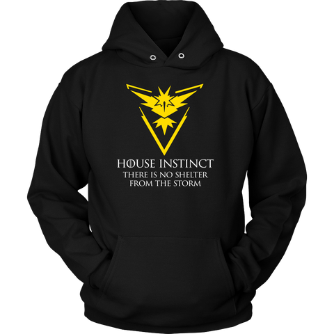 Pokemon house instinct there is no shelter from the storm Unisex Hoodie T Shirt - TL00629HO