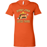 Taco mexican i'm nacho friend Woman Short Sleeve Funny T Shirt - TL00566WS