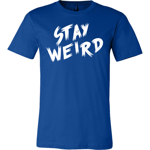 STAY WEIRD Men Short Sleeve T Shirt - TL00693SS