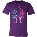 Super Saiyan - Super Saiyan Blue vs Super Saiyan Rose - Men Short Sleeve - TL00829SS