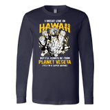Super Saiyan Hawaii Long Sleeve T shirt - TL00094LS