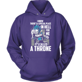 Super Saiyan Vegeta God Blue Stay on throne Unisex Hoodie T shirt - TL00238HO
