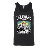Super Saiyan DELAWARE Grown Saiyan Roots Unisex Tank Top T Shirt - TL00170TT