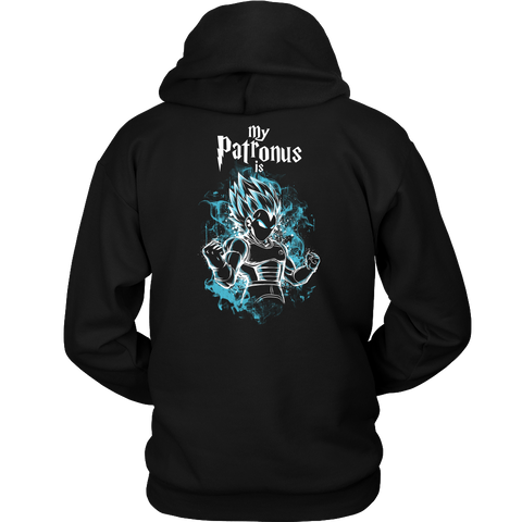 Super Saiyan - My Patronus is Vegeta God Blue - Unisex Hoodie  - TL00899HO
