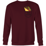 Taco mexican taco tuesdays pocket Sweatshirt Funny T Shirt - TL00600SW