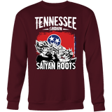 Super Saiyan Tennessee Grown Saiyan Roots Sweatshirt T shirt - TL00148SW