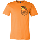 Taco mexican taco tuesdays pocket Men Short Sleeve Funny T Shirt - TL00600SS