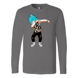 Super Saiyan Vegeta God Dab Long Sleeve T shirt - TL00464LS
