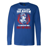 Super Saiyan Majin Vegeta Out Of Hell Long Sleeve T shirt - TL00461LS