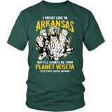 Super Saiyan - Arkansas - Men Short Sleeve T Shirt - TL00096SS