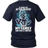 Super Saiyan - Vegeta God Blue protect family - Men Short Sleeve T Shirt - TL00886SS