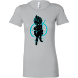 SUPER SAIYAN VEGETA GOD BLUE Woman Short Sleeve T Shirt - TL00173WS