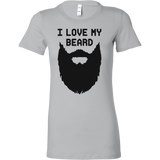 I love My Beard Woman Short Sleeve Funny T Shirt - TL00640WS