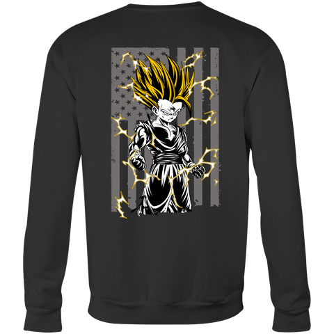 American Super Saiyan Gohan Sweatshirt T shirt - TL00003SW - The TShirt Collection