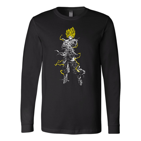 Super Saiyan - Kakarot - Unisex Long Sleeve T Shirt - TL01190LS