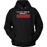 Hobbies - You dont scare me i married a redhead - unisex hoodie t shirt - TL00836HO