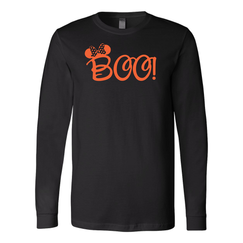 Halloween - BOO - Men Long Sleeve T Shirt - TL00807LS