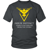 Pokemon house instinct there is no shelter from the storm Men Short Sleeve T Shirt - TL00629SS