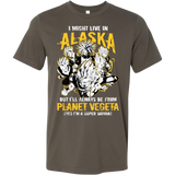 Super Saiyan Alaska Men Short Sleeve T Shirt - TL00100SS