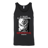 Super Saiyan Vegeta Monster Inside Unisex Tank Top T Shirt- TL00281TT