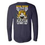 Super Saiyan Vegeta Warrior Long Sleeve T shirt - TL00120LS