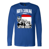Super Saiyan North Carolina Grown Saiyan Roots Long Sleeve T shirt - TL00149LS
