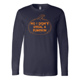 Halloween - No i didn't steal a pumpkin - Men Long Sleeve T Shirt - TL00734LS
